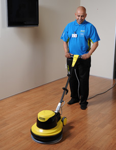 Office Cleaner and Polishing Floor